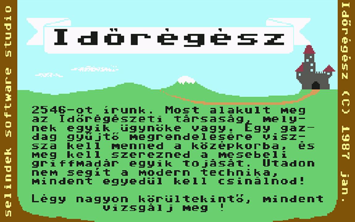 Időrégész - Magyar Fejlesztésű Játékok