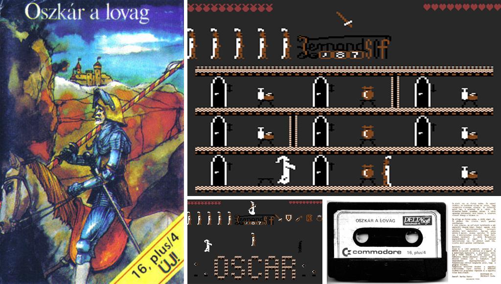 Oszkár a lovag - Magyar Fejlesztésű Játékok