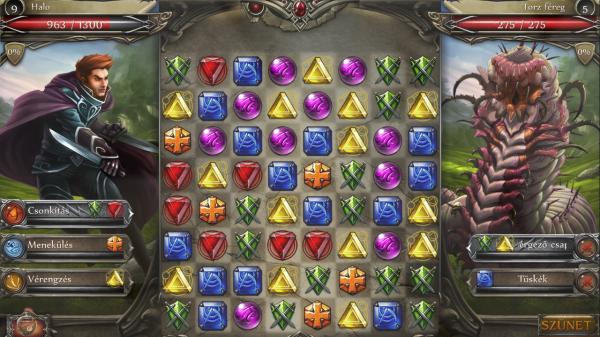 Jewel Fight: Heroes of Legend - Magyar Fejlesztésű Játékok