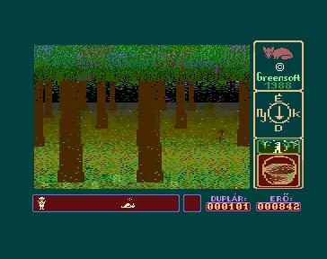 Csavargás a Gombák Birodalmában Commodore 16 - Magyar Játék