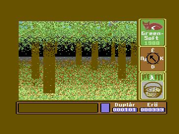 Csavargás a Gombák Birodalmában Commodore 64 - Magyar Játék