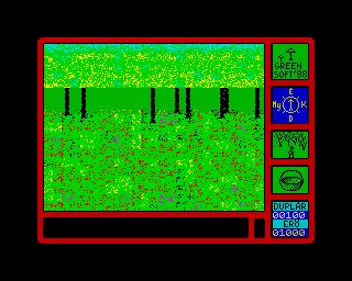 Csavargás a Gombák Birodalmában Spectrum ZX - Magyar Játék