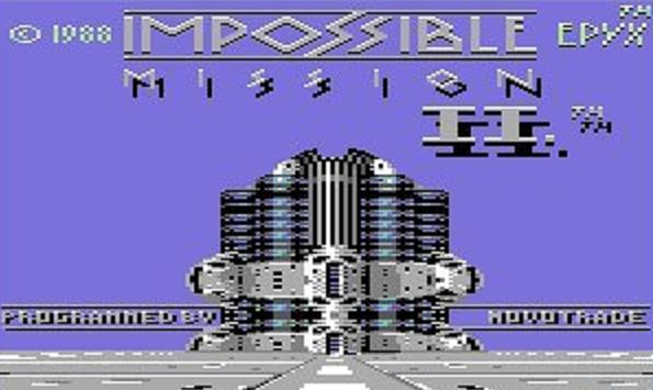 Impossible Mission II - Magyar Fejlesztésű Játékok