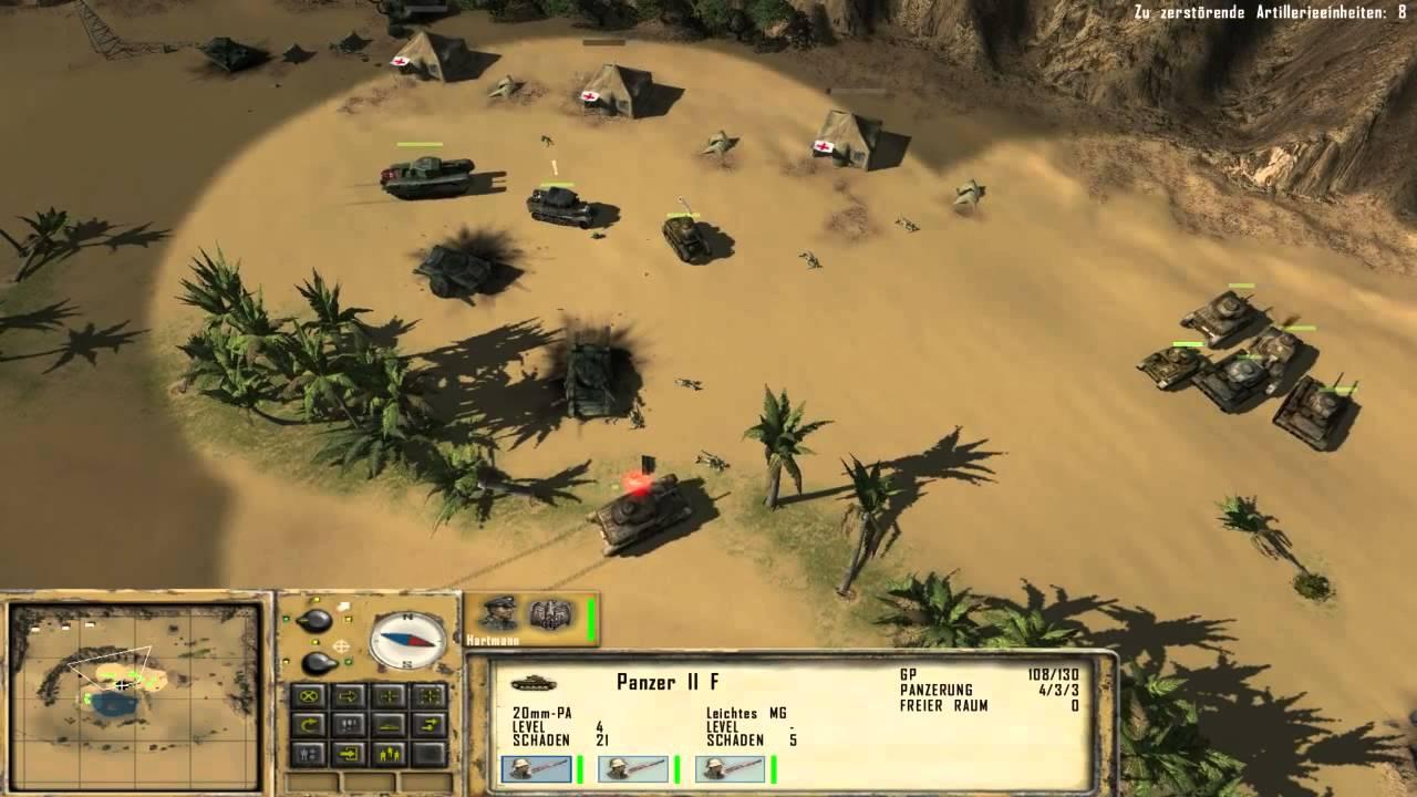 Afrika Korps vs. Desert Rats - Magyar Fejlesztésű Játékok