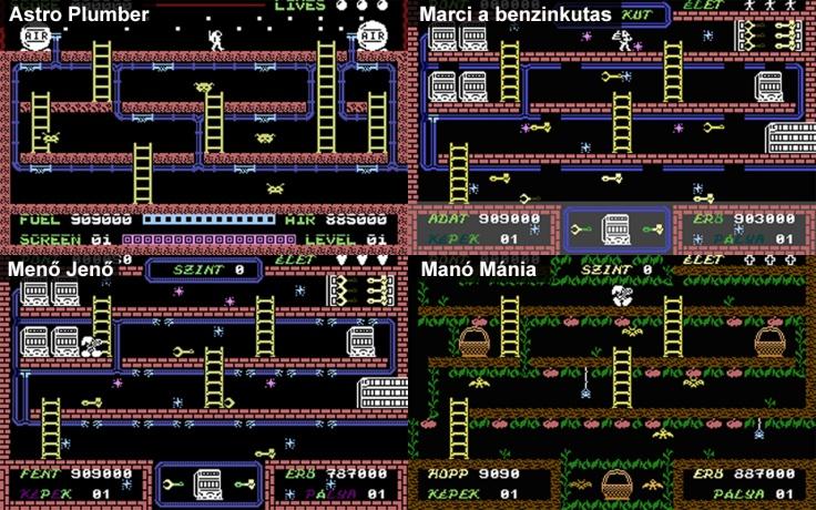 Astro Plumber - Meno Jeno - Marci a Benzinkutas - Magyar Fejlesztésű Játékok
