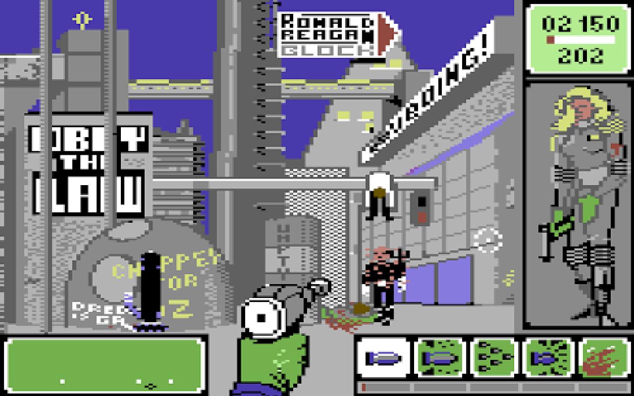 Horror City - Magyar Fejlesztésű Játékok - C64