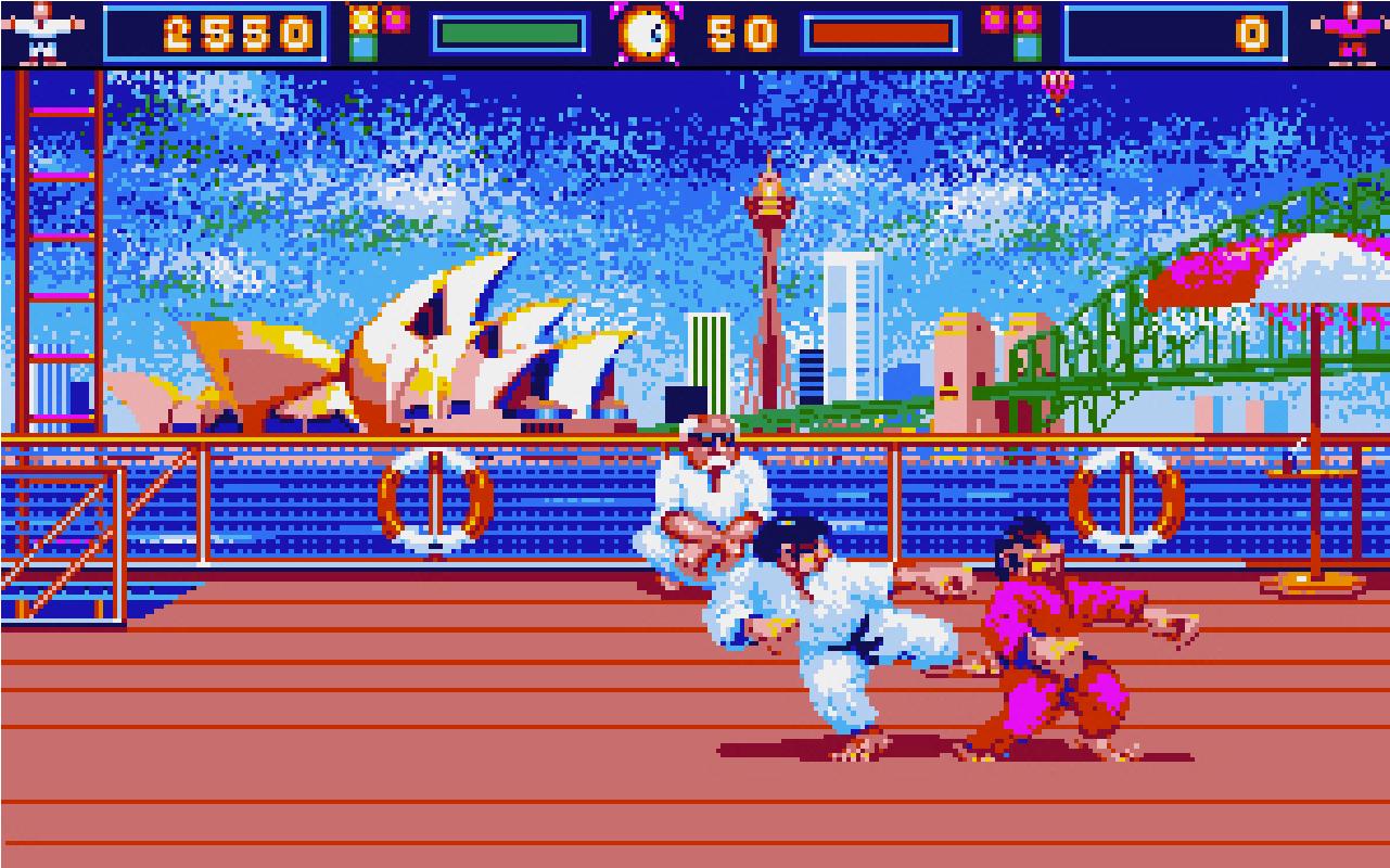 International Karate (Atari ST) 1986 - Magyar Fejlesztésű Játékok
