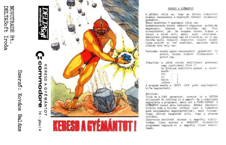 Keresd a gyémántot - Magyar Fejlesztésű Játékok