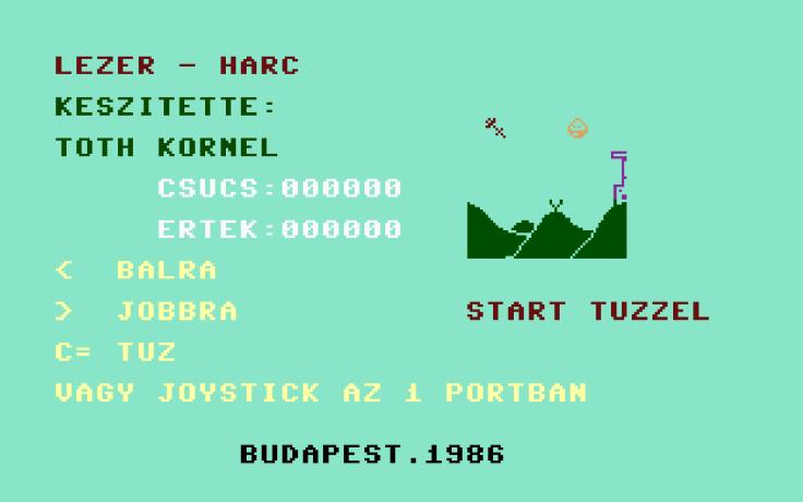 Lézer-harc - Magyar Fejlesztésű Játékok