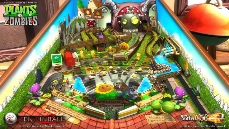 Pinball FX2 -Plants vs Zombies - Magyar Fejlesztésű Játékok