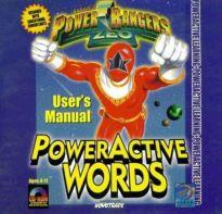 Power Rangers PowerActive Words - Magyar Fejlesztésű Játékok