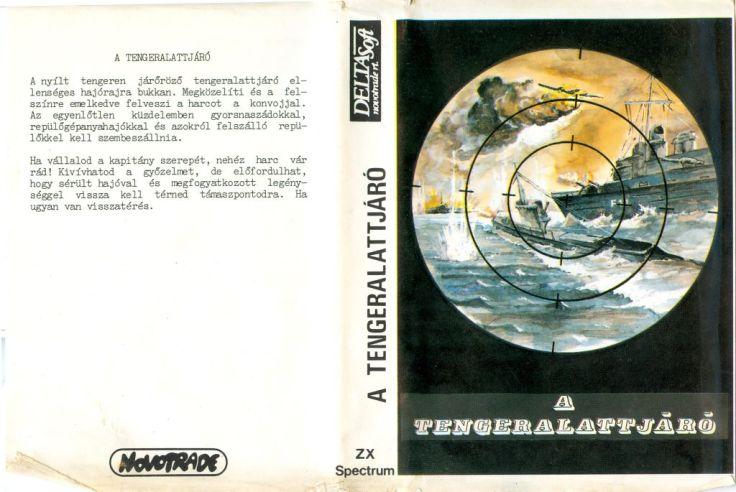 A Tengeralattjáró - Magyar Fejlesztésű Játékok - Spectrum