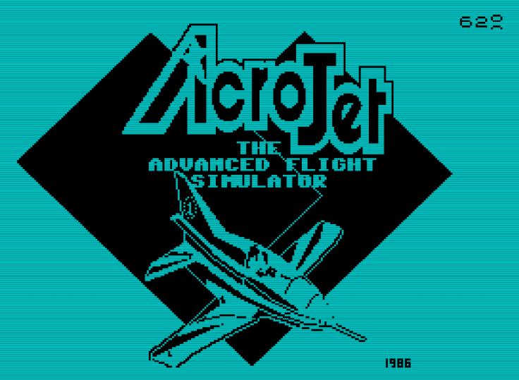 Acro Jet - Spectrum - Magyar Fejlesztésű Játékok