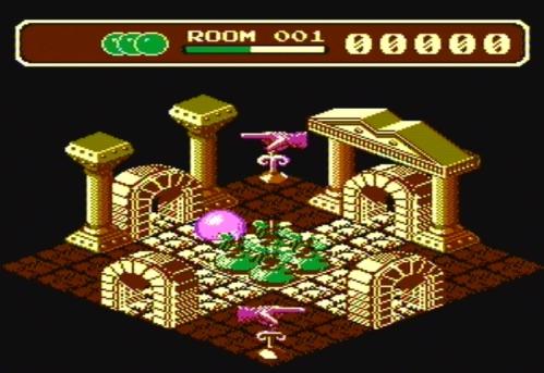 Airball - NES - Magyar Fejlesztésű Játékok d