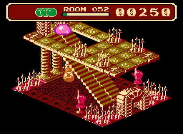 Airball - NES - Magyar Fejlesztésű Játékok