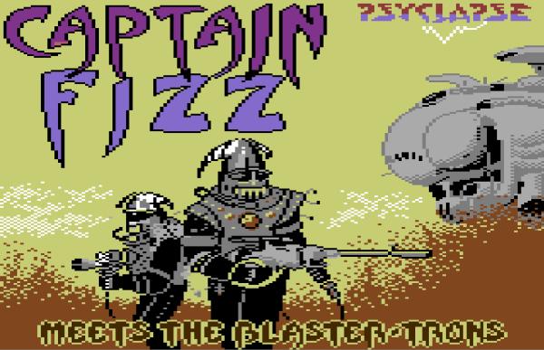 Captain Fizz - Plus4 - Magyar Fejlesztésű Játékok