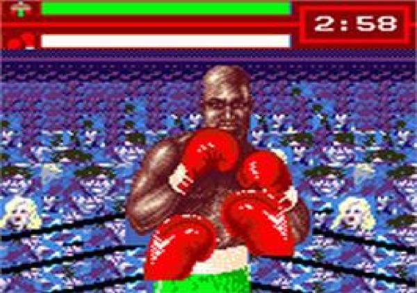 Evander Holyfield's Real Deal Boxing - Game Gear - Magyar Fejlesztésű Játékok