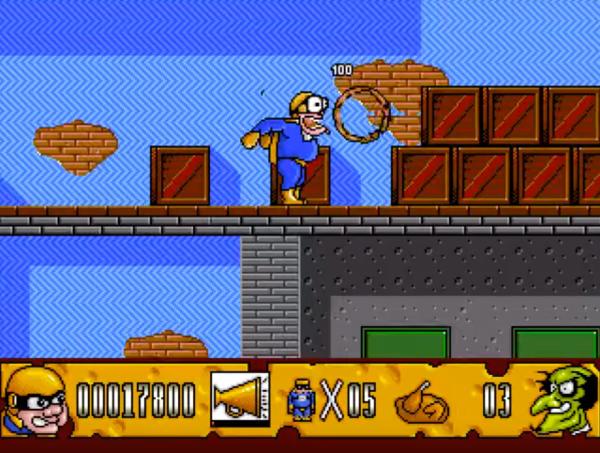 Fatman The Caped Consumer - Magyar Fejlesztésű Játékok - Amiga
