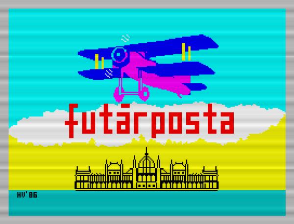 Futárposta - Spectrum - Magyar Fejlesztésű Játékok