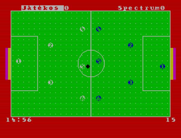 Gombfoci - Spectrum - Magyar Fejlesztésű Játékok