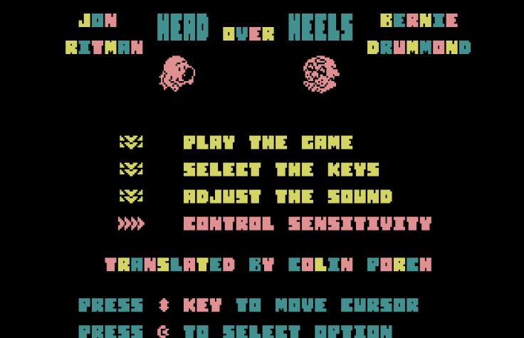 Head Over Heels - Plus4 - Magyar Fejlesztésű Játékok