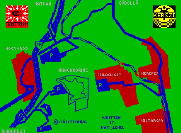 Home Hungaroring - Spectrum - Magyar Fejlesztésű Játékok
