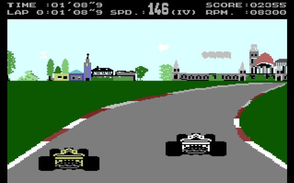 Hungaroring - Magyar Fejlesztésű Játékok - C64 - Plus4