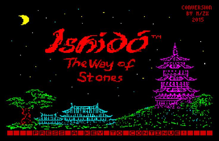 Ishido The Way of Stones - Magyar Fejlesztésű Játékok - Spectrum