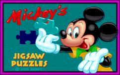 Mickey's Jigsaw Puzzles - Magyar Fejlesztésű Játékok