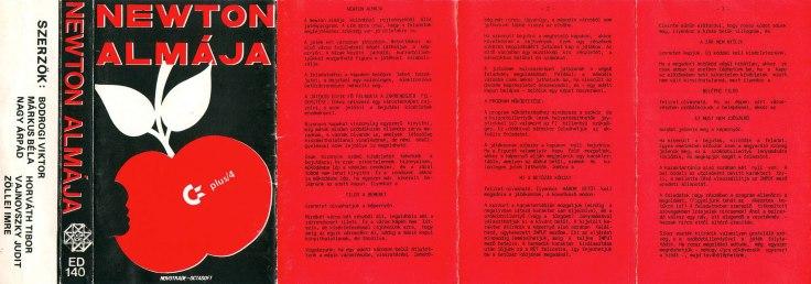 Newton Almája - Plus4 - borító - Magyar Fejlesztésű Játékok