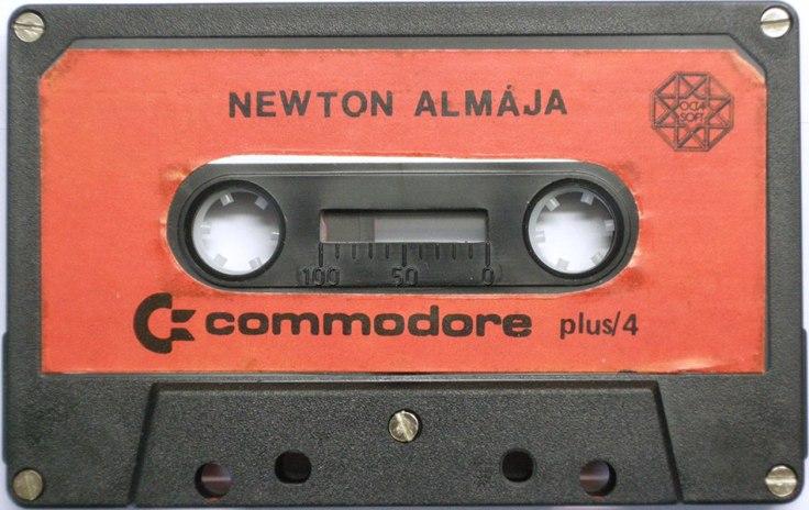 Newton Almája - Plus4 - kazetta - Magyar Fejlesztésű Játékok