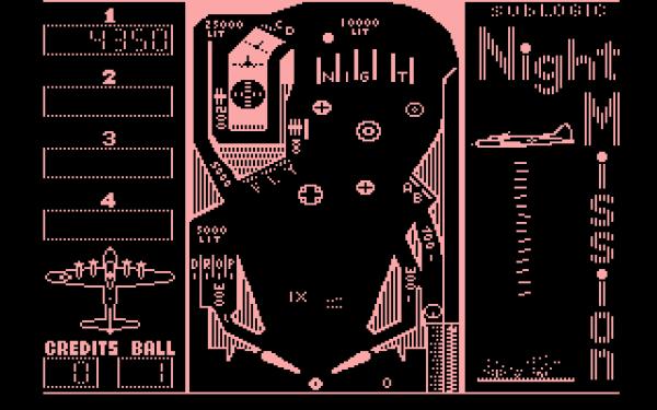 Night Mission Pinball - Plus4 - Magyar Fejlesztésű Játékok