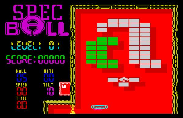 SpecBall - Magyar Fejlesztésű Játékok - Spectrum ZX
