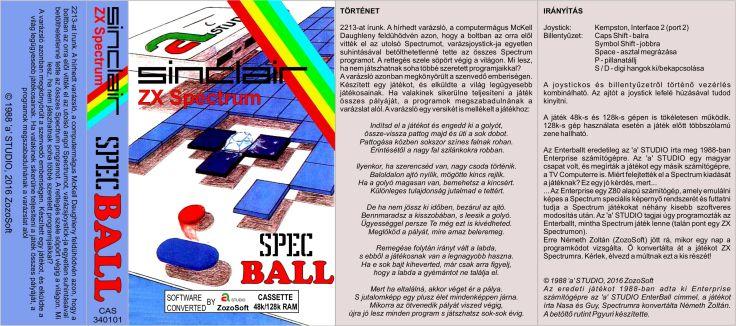 SpecBall - Magyar Fejlesztésű Játékok - Spectrum.jpg