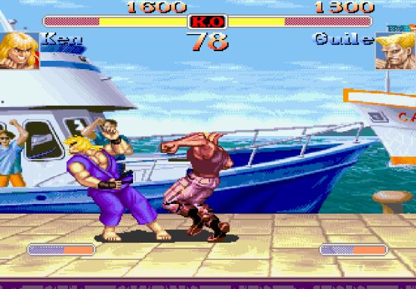 Super Street Fighter 2 Turbo amiga 1995 - Magyar Fejlesztésű Játékok