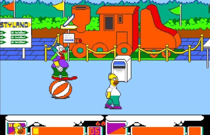 The Simpsons - MS DOS - Magyar Fejlesztésű Játékok