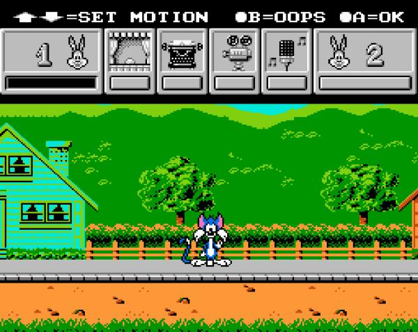 Tiny Toon Adventures - Cartoon Workshop - Magyar Fejlesztésű Játékok - NES