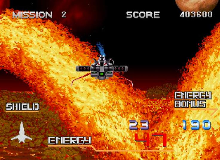 Galaxy Force II - Saturn - Magyar Fejlesztésű Játékok
