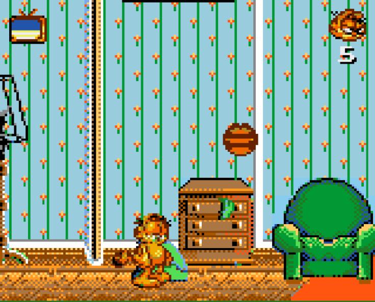 Garfield Caught in the Act Game Gear - Magyar Fejlesztésű Játékok