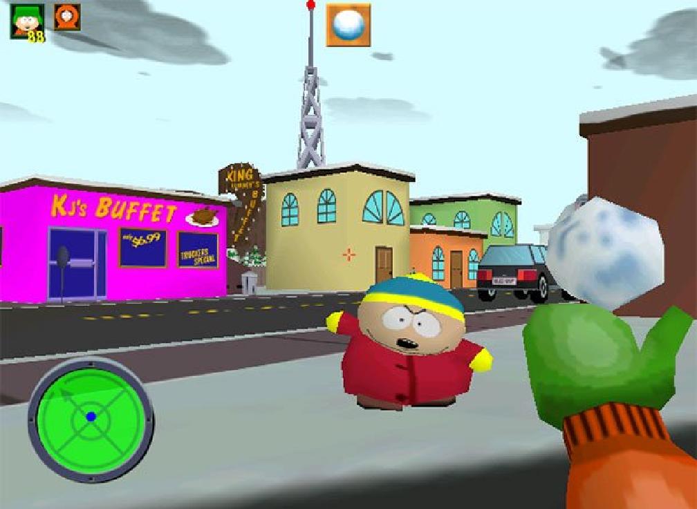 South Park - Playstation - Magyar Fejlesztésű Játékok