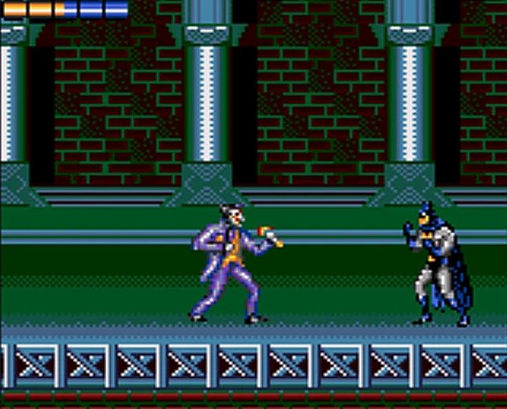 The Adventures of Batman and Robin game gear - Magyar Fejlesztésű Játékok
