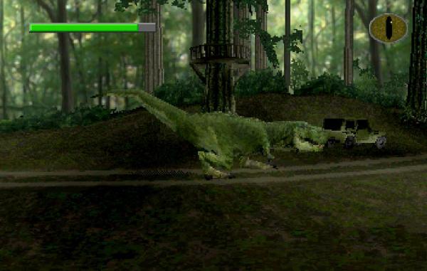 The Lost World - Jurassic Park - Saturn - Magyar Fejlesztésű Játékok