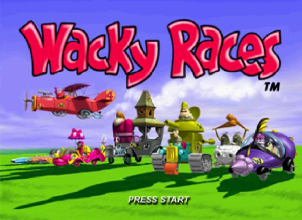 Wacky Races - Playstation - Magyar Fejlesztésű Játékok