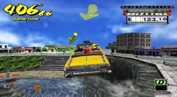 Crazy Taxi - PSP - Magyar Fejlesztésű Játékok