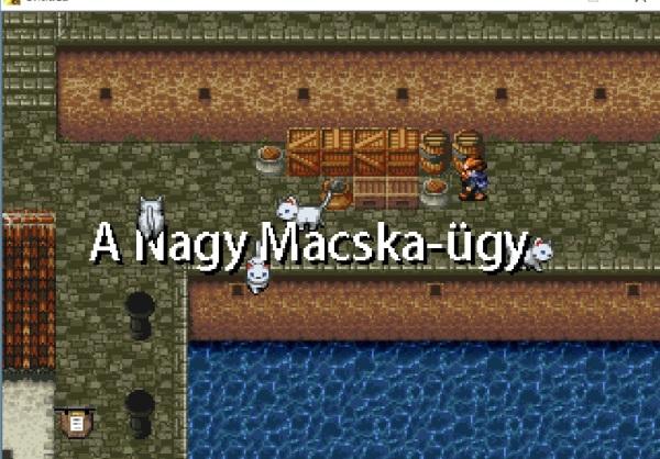 A Nagy Macska Ügy - Magyar Fejlesztésű Játékok
