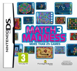 Match 3 Madness (Nintendo DS) - Magyar Játékok