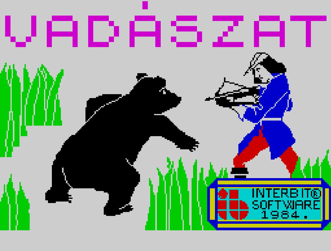 Vadászat - Magyar Játék Spectrum Interbit