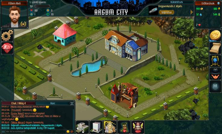 Argum City - Magyar játék - Ingyenes