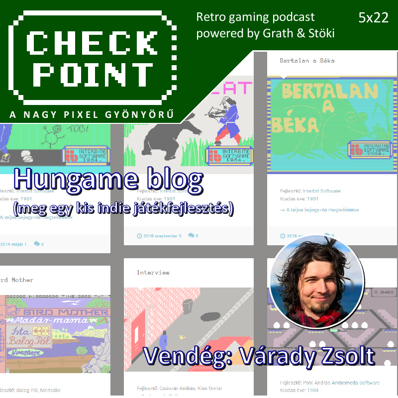 Hungame - Varady Zsolt - Checkpoint podcast