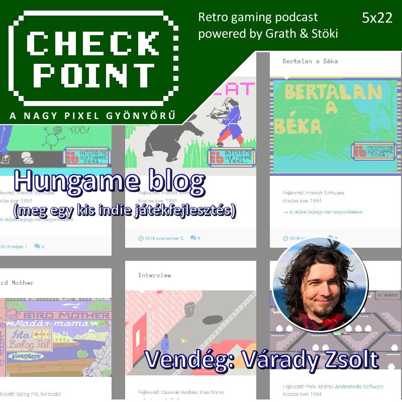 Hungame - Varady Zsolt - Checkpoint podcast